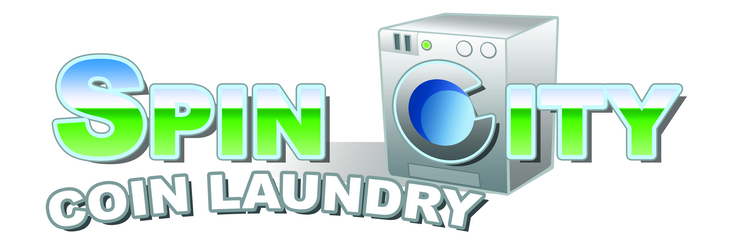 Bastrop Texas Spin City Laundromat logo